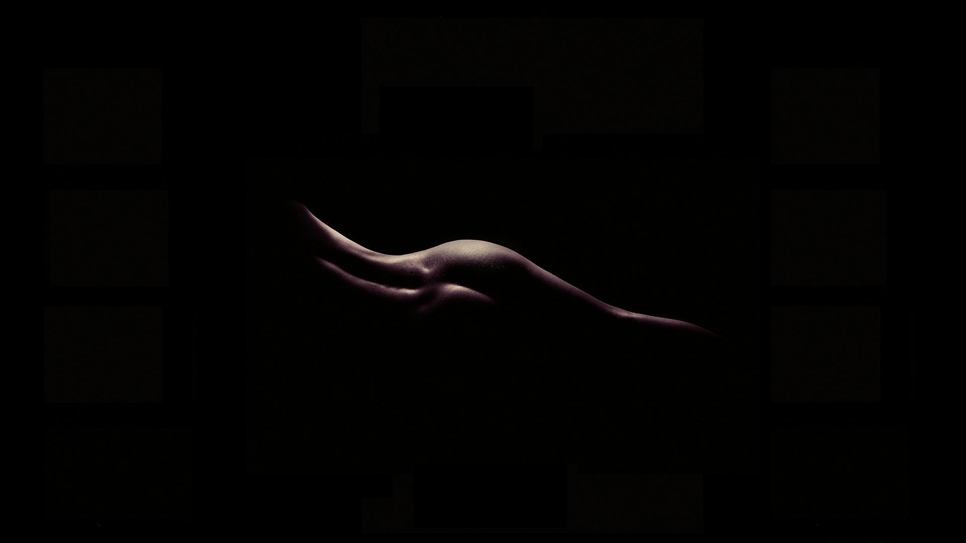 Обои чёрный, очертание, тело. Разное foto 8