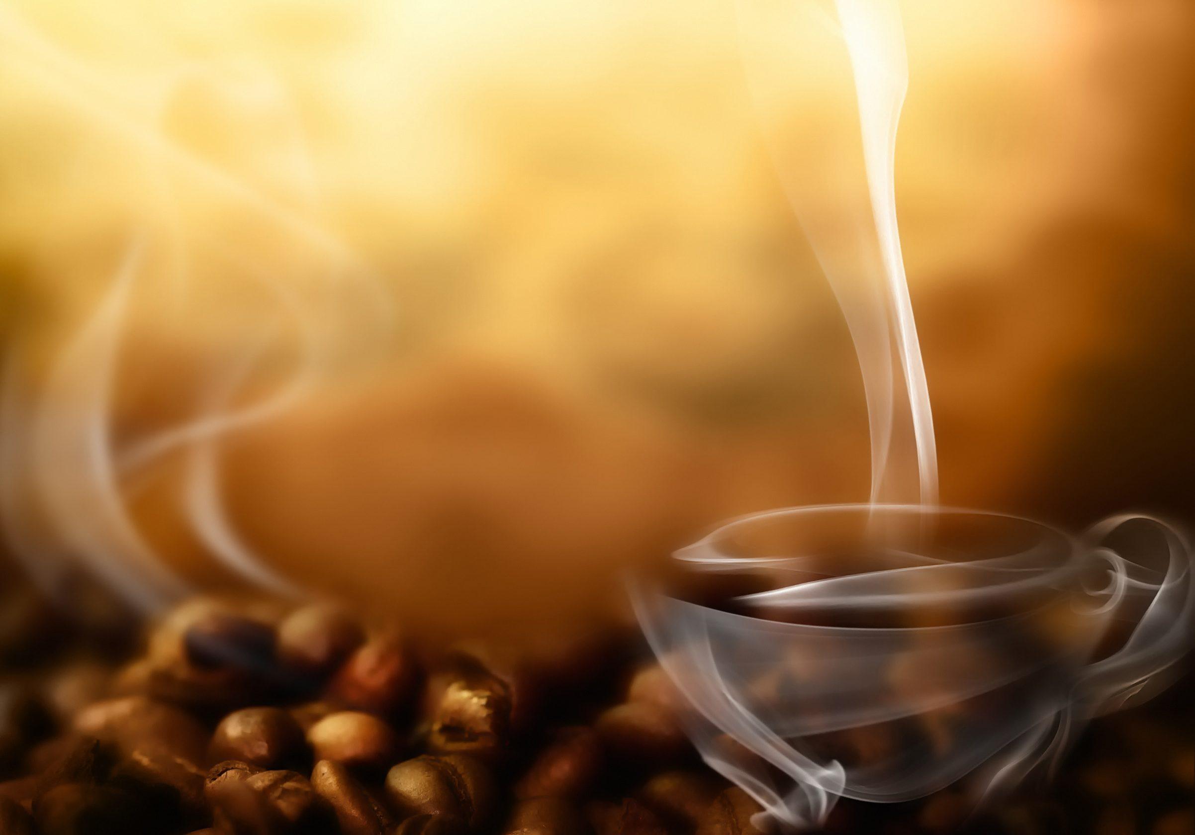 Картинки кофе скачать заставки дымок