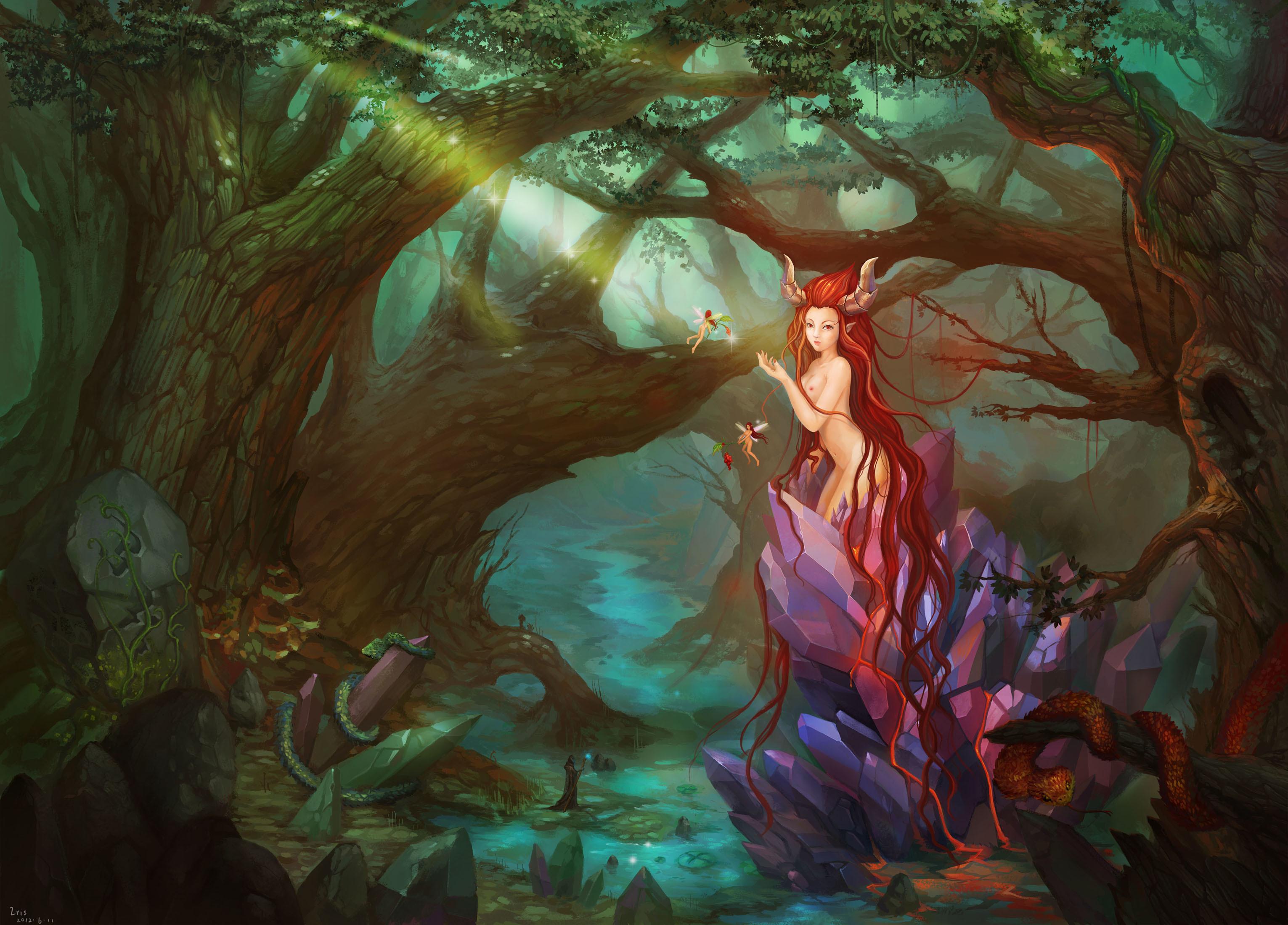 Соблазнение девушки в лесу 4 фотография