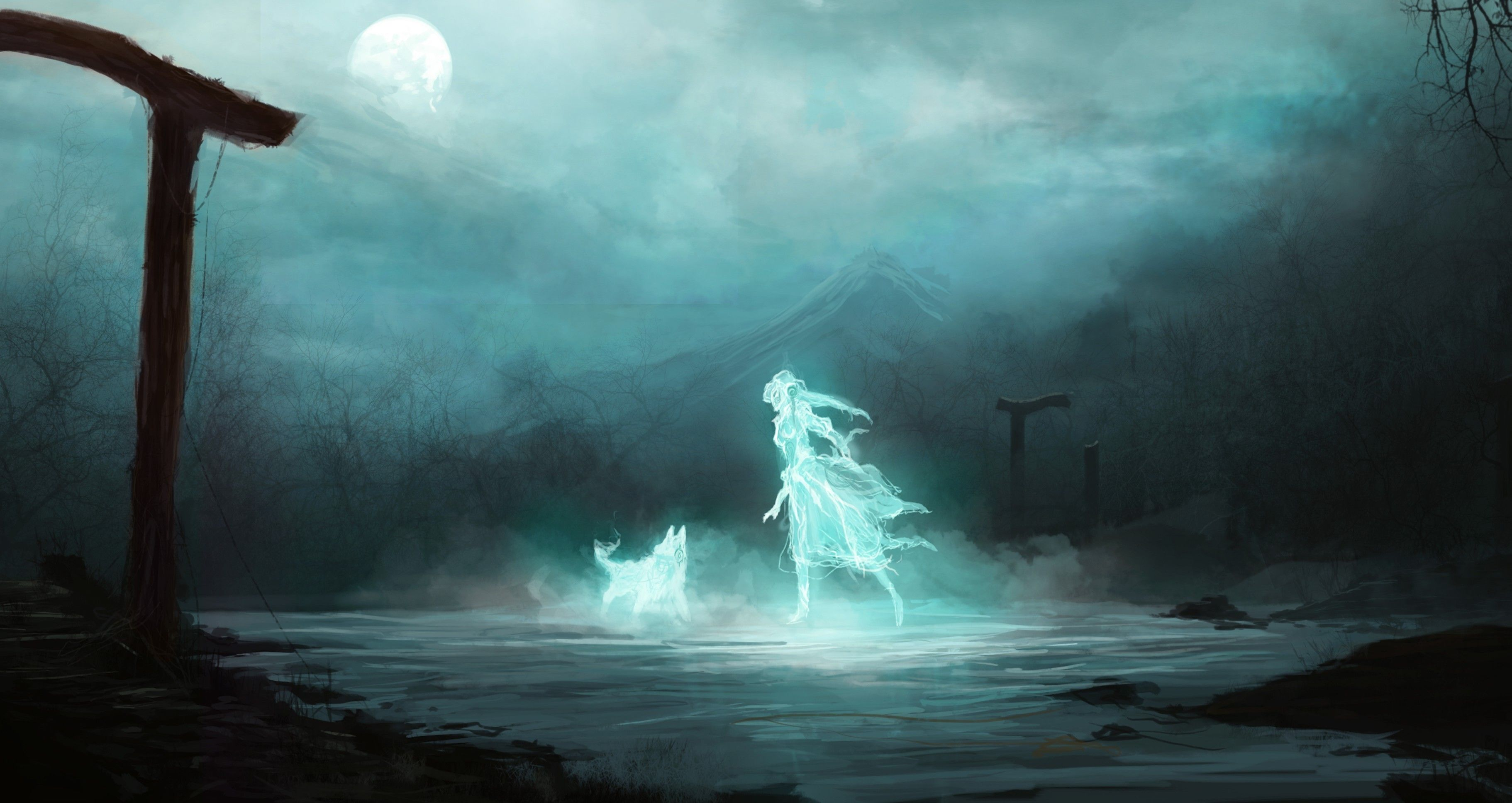 Картинки девушка призрак скачать для