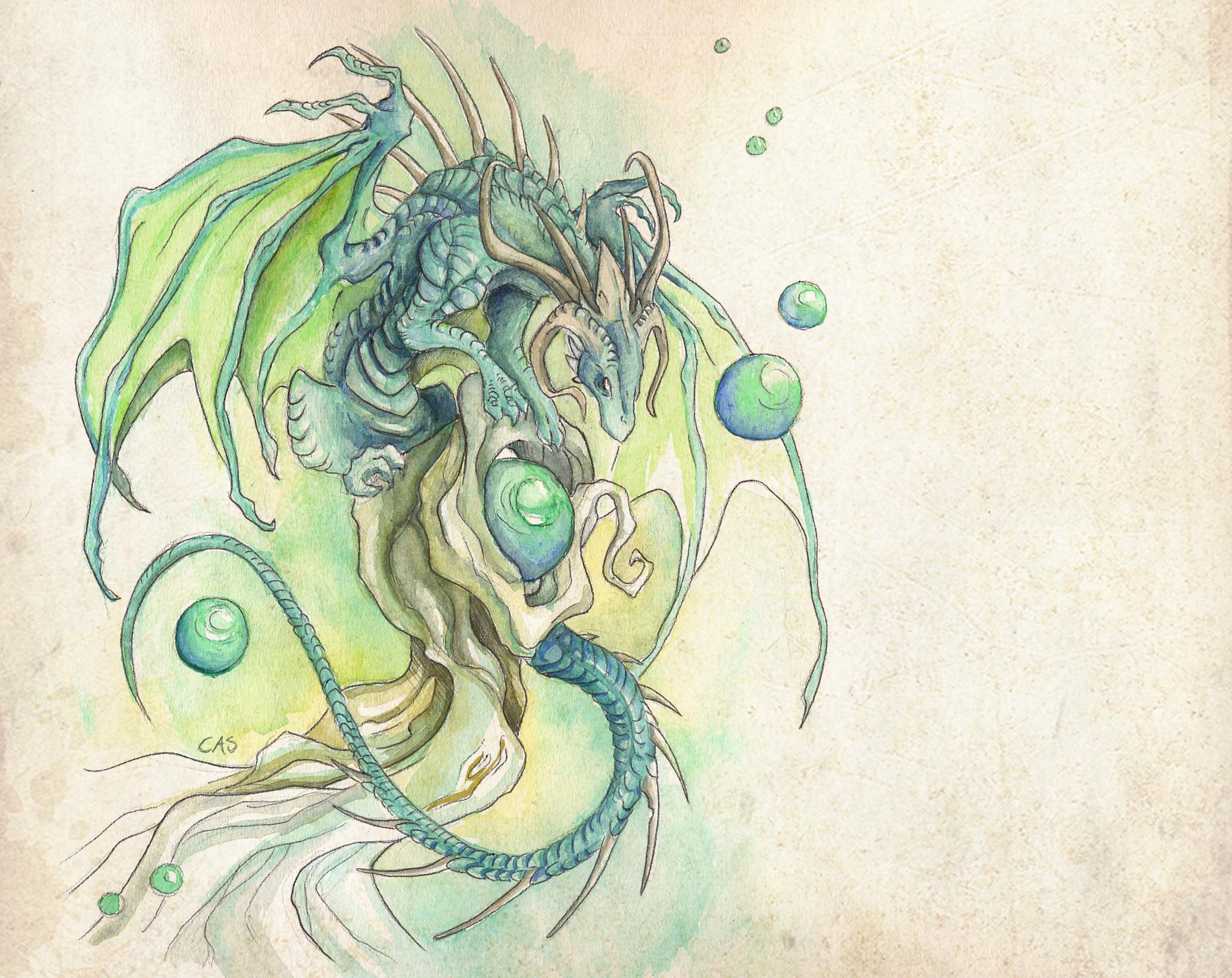 водяной рисунок: