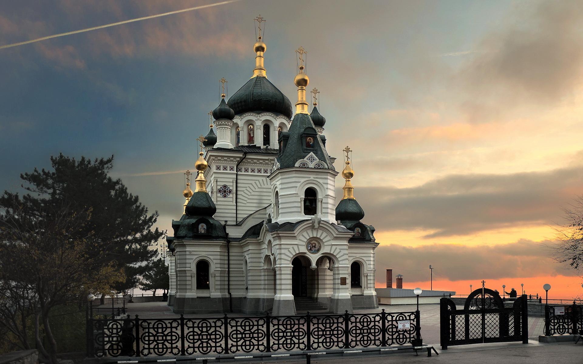 Обои Форосская церковь, Крым. Города foto 10