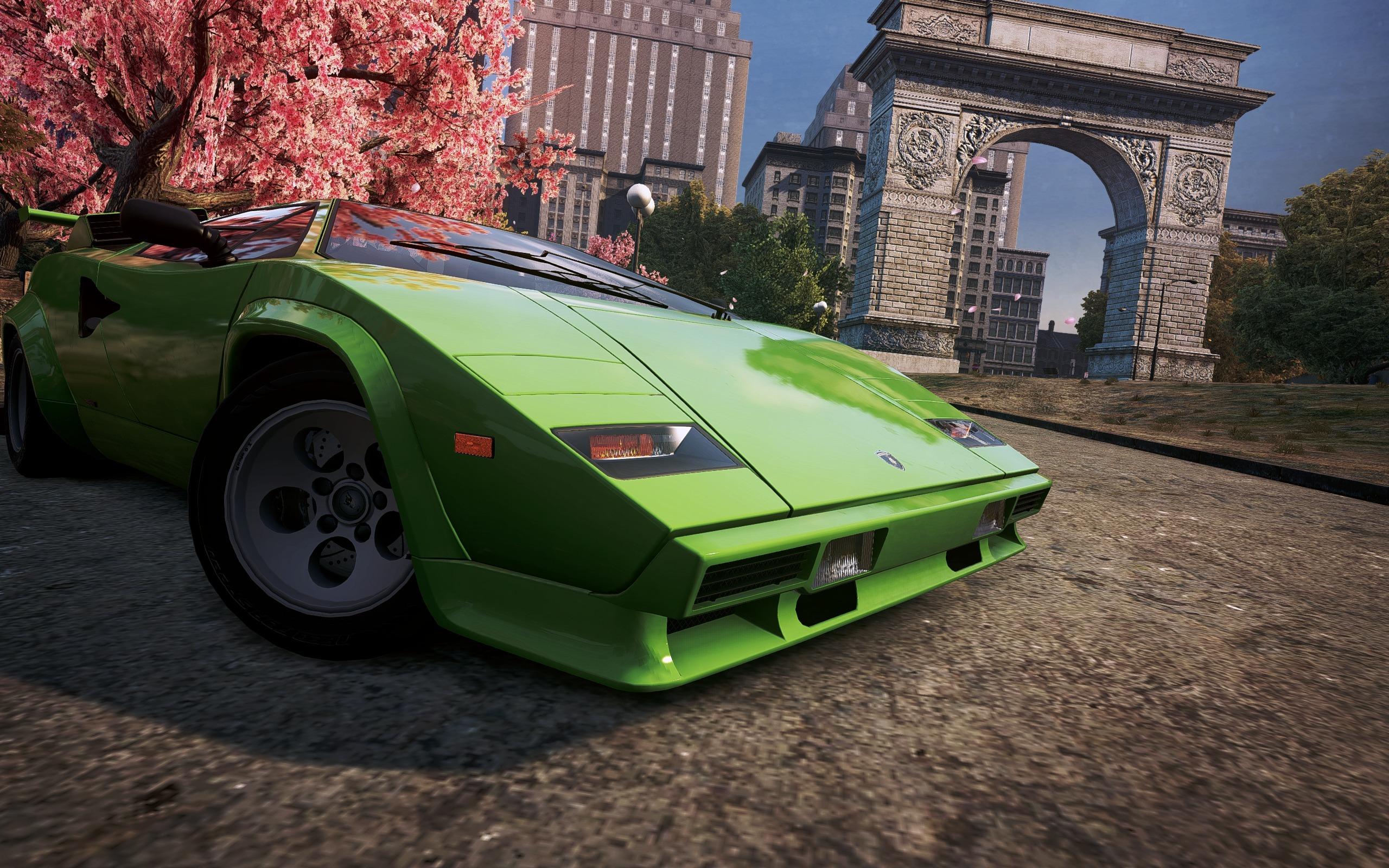 Обои классика, Need for speed most wanted 2012, Спорткар, lamborghini countach. Игры foto 7