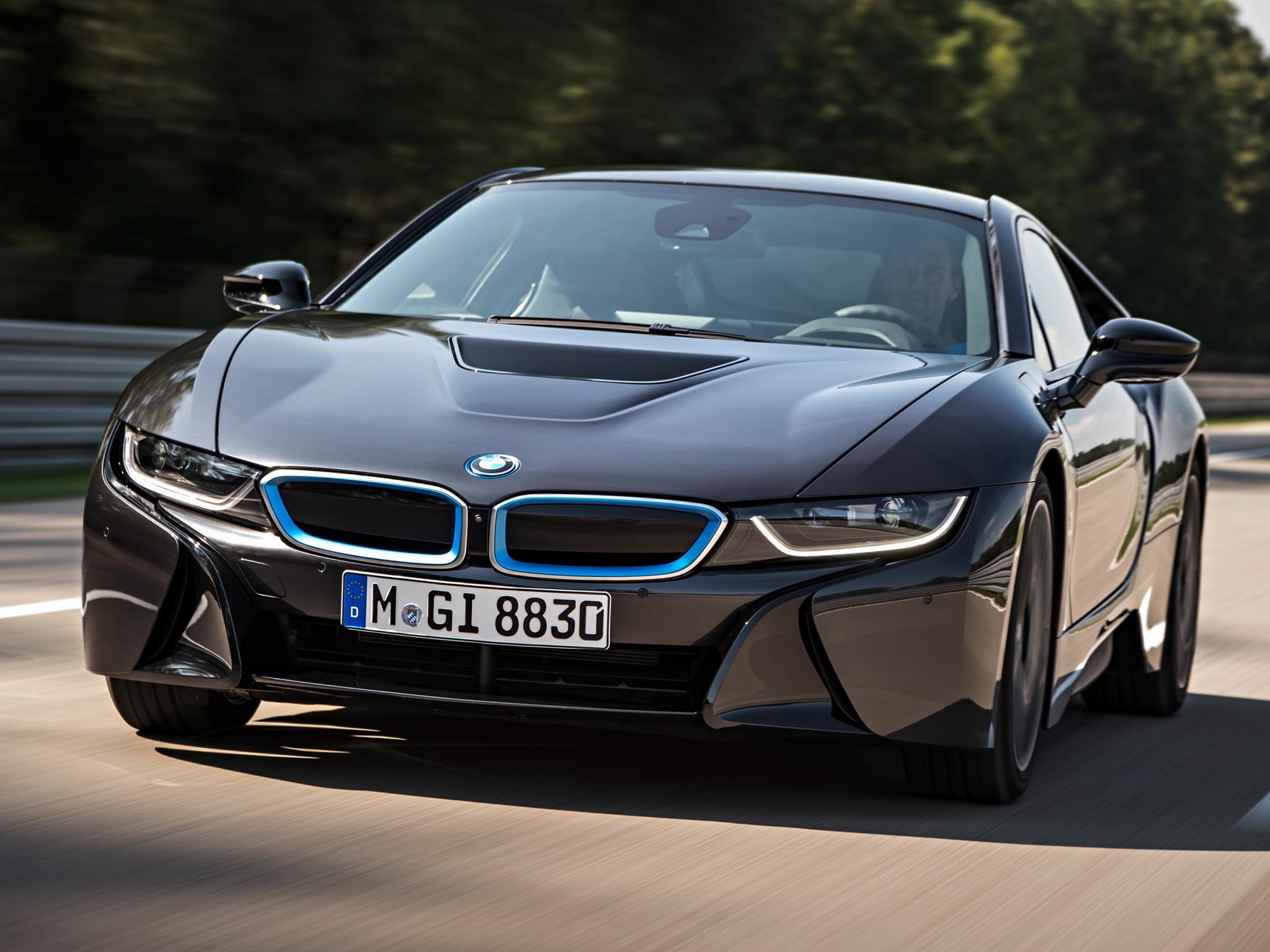 Картинки BMW скачать на рабочий стол, фото i8