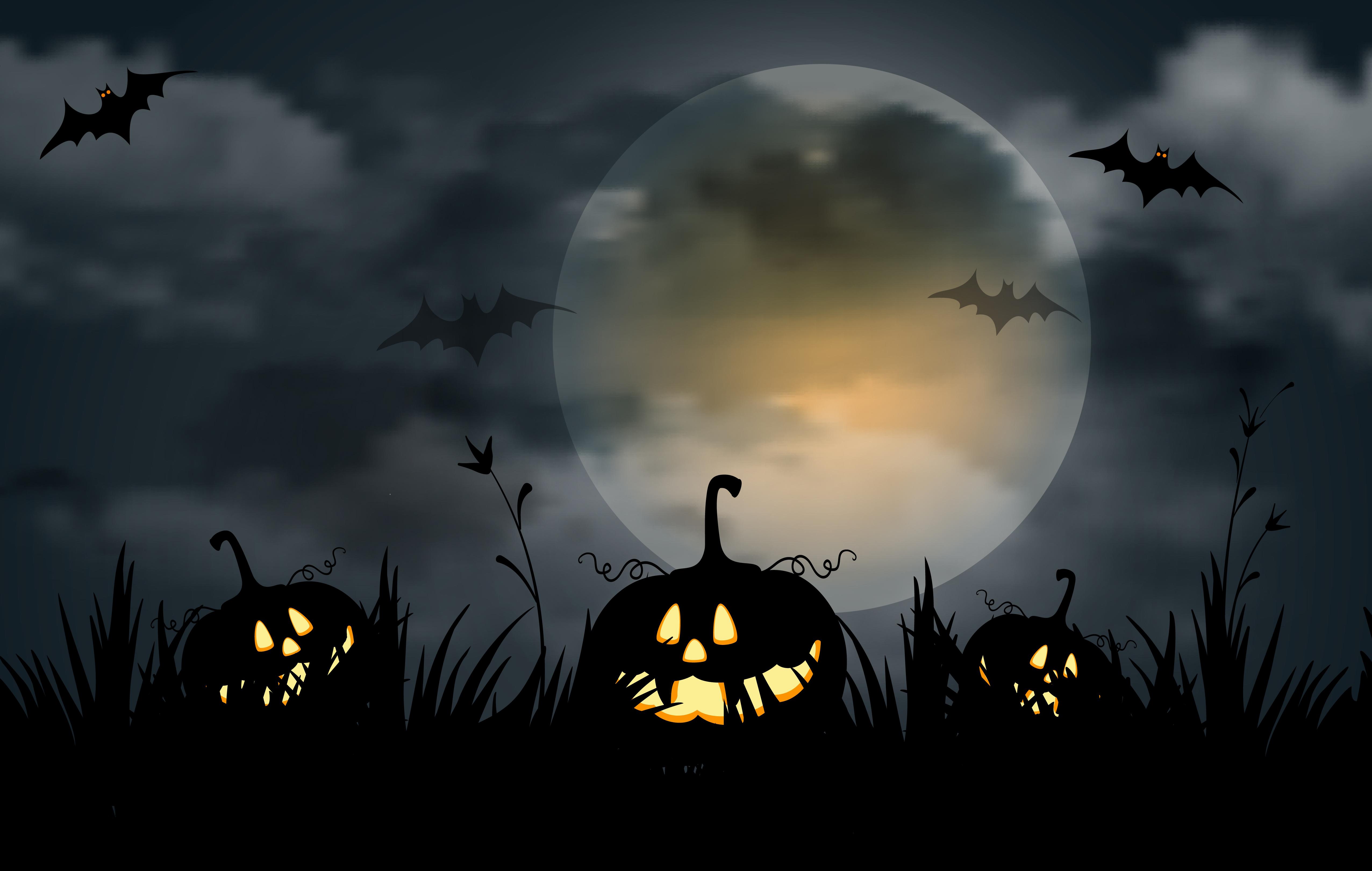 Обои halloween скачать для рабочего стола, фотографии evil ...