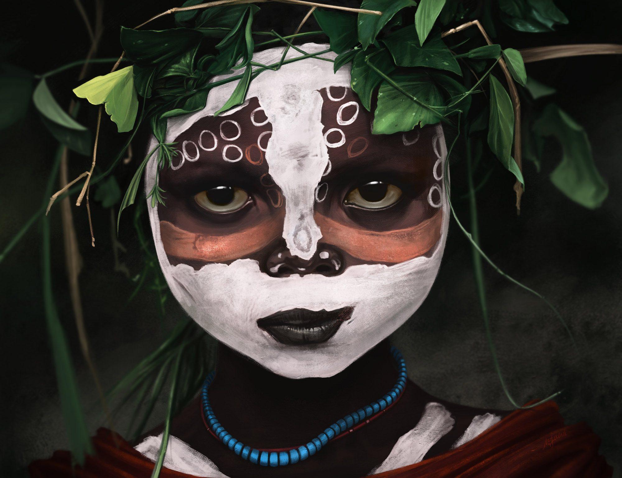 Фото секс с аборигенкой 10 фотография