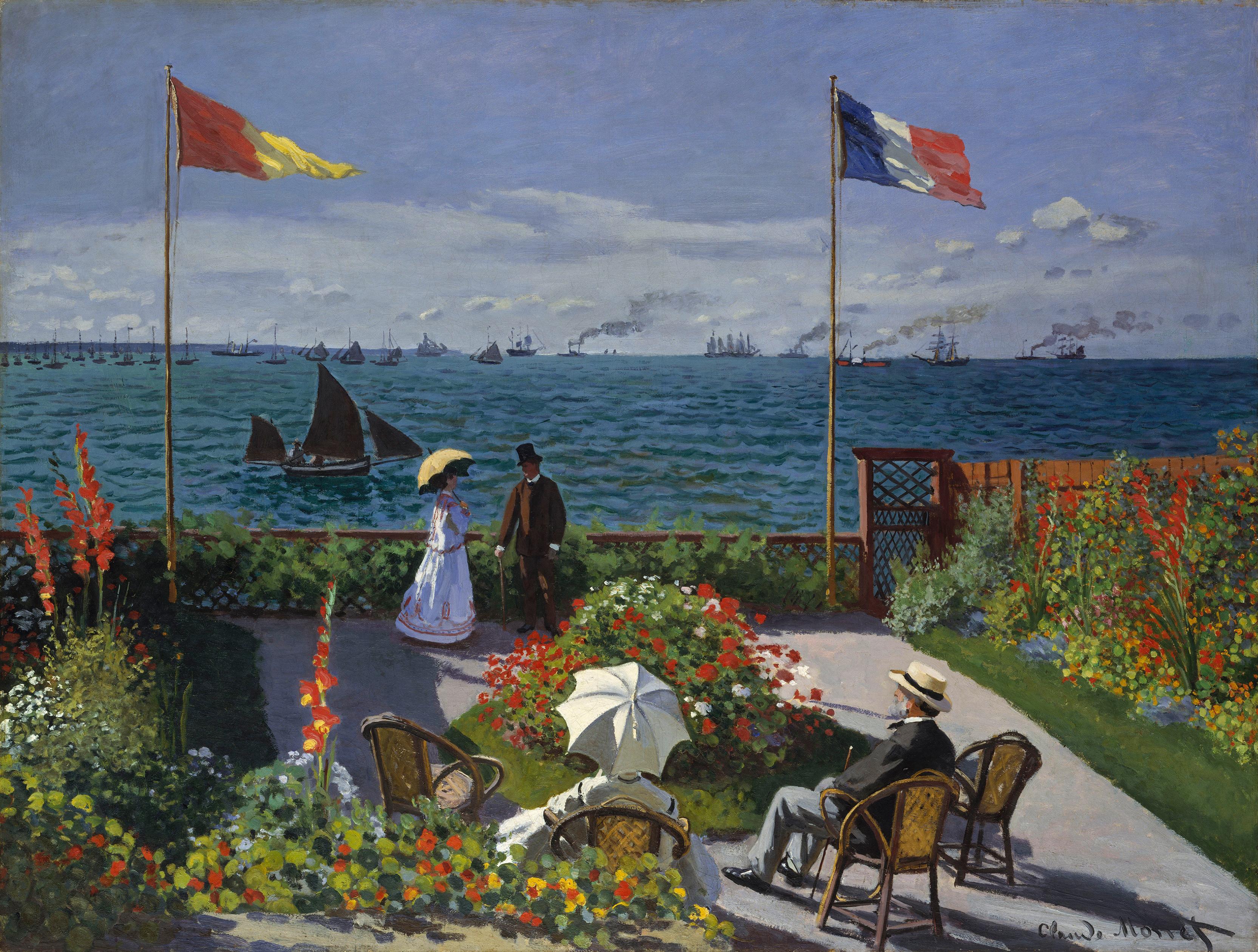 Обои Клод Моне, Пейзаж, картина. Разное foto 18