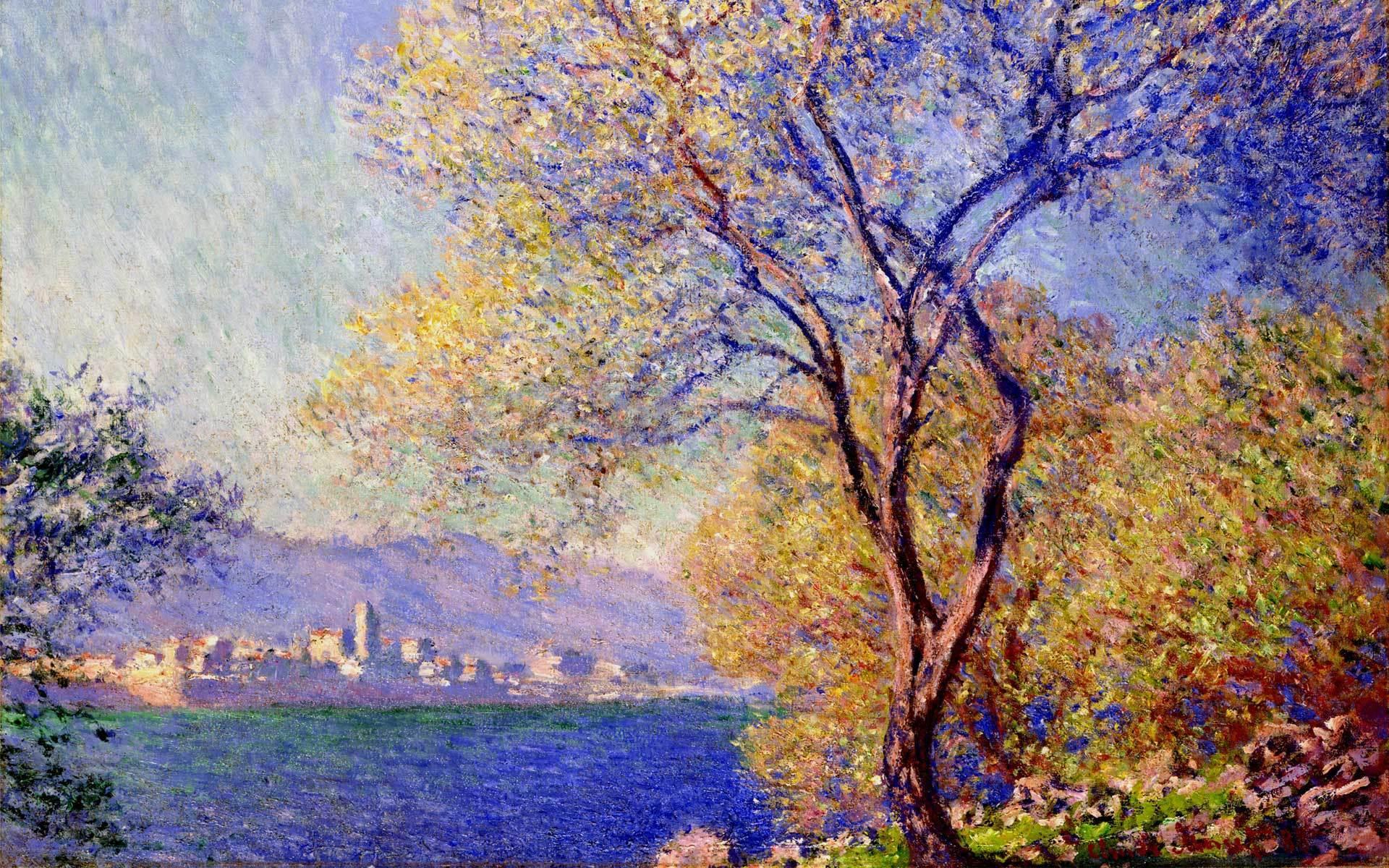 Обои Клод Моне, Пейзаж, картина. Разное foto 15