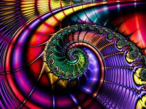 Обои спираль скачать для рабочего стола, картинки цвет