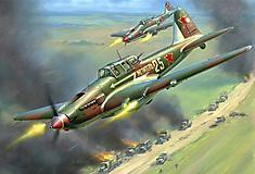 Картинки Ил-2 скачать на рабочий стол, фотографии советский штурмовик