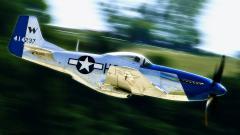 Картинки P-51 скачать на рабочий стол, заставки Mustang