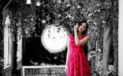 Картинки девушка скачать для рабочего стола, фотографии азиатка