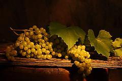 Обои виноград, скачать заставки гроздь, листья на рабочий стол