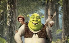 Обои шрек скачать для рабочего стола, фотографии Shrek