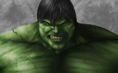Обои Невероятный Халк скачать для рабочего стола, рисунки The Incredible Hulk