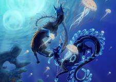 Картинки подводный мир скачать на рабочий стол, рисунки рыбы