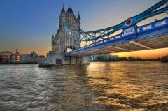 Обои Tower Bridge, London, England, River Thames