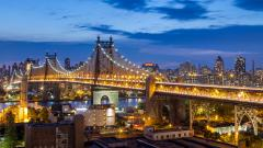 Обои Queensboro Bridge, New York City, Manhattan, NYC