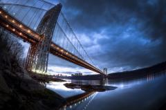 Картинки George Washington Bridge, Washington Heights, NY, US