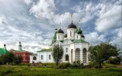 Обои Спасо Преображенский монастырь скачать на рабочий стол, фото Муром