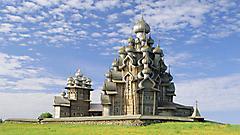 Картинки Кижский погост, скачать фотографии кижи, преображенская церковь