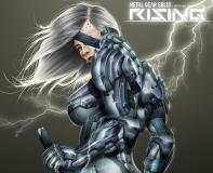 Заставки fan art, Raiden, Metal Gear Rising, female