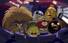 Обои Angry birds скачать на рабочий стол, рисунки Star wars