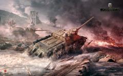 Обои World of Tanks скачать для рабочего стола, заставки Wargaming Net