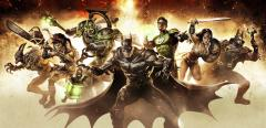 Заставки Infinite Crisis, Batman, Wonder Woman, Green Lantern