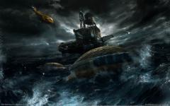 Заставки A new beginning, game wallpapers, Daedalic, sea