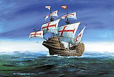 Обои парусный корабль скачать для рабочего стола, фото Сан Габриэль 16 века