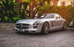 Фото mercedes, sls, amg, black series