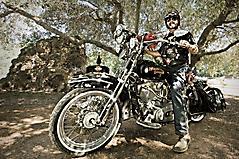 Картинки Мотоцикл, скачать фотографии harley-davidson, байкер