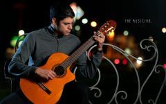 Картинки гитарист скачать для рабочего стола, фотографии гитара