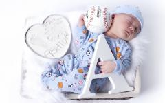 Картинки младенец скачать на рабочий стол, фото сон