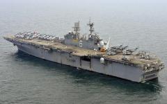 Картинки USS Bonhomme Richard скачать для рабочего стола, фотографии корабль