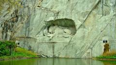 Заставки Lion, Lucerne, Switzerland, лев