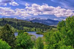 Заставки Pearrygin Lake, Methow Valley, Winthrop, Washington