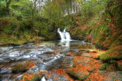 Заставки Mullinhassig Waterfall, Ireland, Ирландия, водопад
