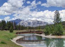 Фото Cascade Ponds, Banff National Park, Alberta, Canada