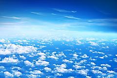 Обои голубое небо, скачать заставки облака
