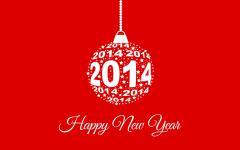 Обои Happy New Year скачать для рабочего стола, фотографии 2014