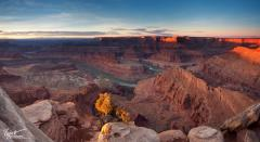 Картинки Grand Canyon National Park, скалы, река Колорадо, Подкова