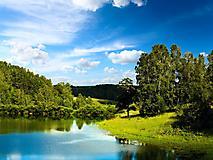 Картинки летняя природа, скачать фотографии река