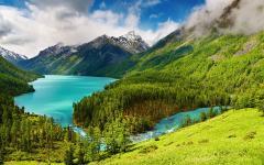 Картинки высокие горы скачать на рабочий стол, заставки природа