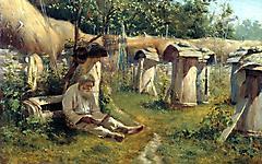Картинки художник скачать на рабочий стол, рисунки Николай Алексеевич Богатов