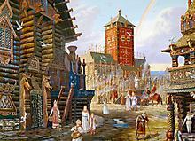 Картинки Всеволод иванов, скачать заставки радуга над арконой, город